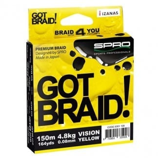 got braid yellow 300m 1