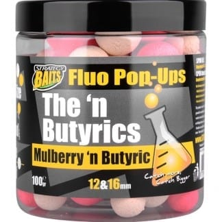 Strategy Baits Mulberry´n Butyric PopUp